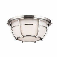 Hudson Valley 4112-PN Conrad Polished Nickel Finish 11.75 Wide Ceiling Light Fixture