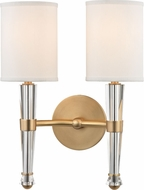 Hudson Valley 4120-AGB Volta Aged Brass Light Sconce