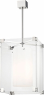 Hudson Valley 4132-PN Achilles Modern Polished Nickel 18  Lighting Pendant