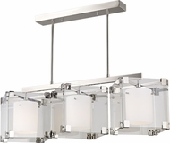 Hudson Valley 4154-PN Achilles Modern Polished Nickel Kitchen Island Light