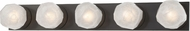 Hudson Valley 4185-OB Nimbus Modern Old Bronze LED 5-Light Lighting For Bathroom