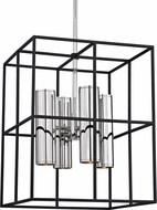 Hudson Valley 4218-PN LaGrange Contemporary Polished Nickel Halogen Entryway Light Fixture