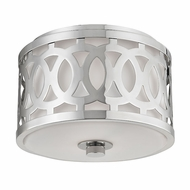 Hudson Valley 4310-PN Genesee Polished Nickel Ceiling Light Fixture