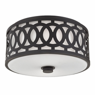 Hudson Valley 4314-OB Genesee Old Bronze Flush Mount Lighting