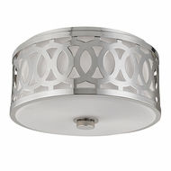 Hudson Valley 4314-PN Genesee Polished Nickel Overhead Lighting