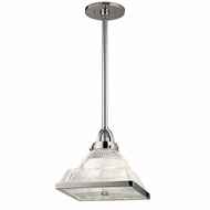 Hudson Valley 4411-PN Harriman Polished Nickel Finish 68.75  Tall Mini Pendant Hanging Light