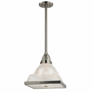 Hudson Valley 4411-SN Harriman Satin Nickel Finish 11.25  Wide Mini Hanging Light Fixture
