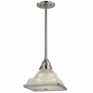 Hudson Valley 4414-SN Harriman Satin Nickel Finish 14.25  Wide Ceiling Pendant Light