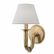 Hudson Valley 4421-AGB Dundee Aged Brass Wall Sconce