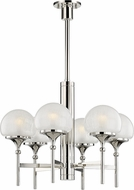 Hudson Valley 4427-PN Salem Modern Polished Nickel Chandelier Light