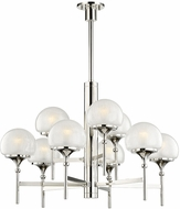 Hudson Valley 4436-PN Salem Modern Polished Nickel Lighting Chandelier