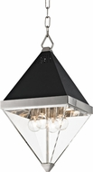 Hudson Valley 4510-PN Coltrane Contemporary Polished Nickel 10  Entryway Light Fixture