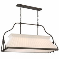 Hudson Valley 4540 Clifton 40.25 Wide Transitional Island Ceiling Light