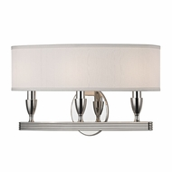 Hudson Valley 4543-PN Bancroft Polished Nickel Wall Sconce Lighting
