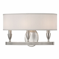 Hudson Valley 4543-SN Bancroft Satin Nickel Wall Mounted Lamp