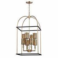 Hudson Valley 4819-AGB Vestal Aged Brass Finish 37  Tall Pendant Lighting
