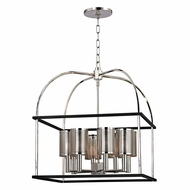 Hudson Valley 4821-PN Vestal Polished Nickel Finish 21  Wide Pendant Lamp