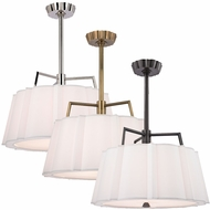 Hudson Valley 4824 Humphrey 24  Wide Transitional Hanging Pendant Lighting