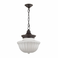 Hudson Valley 5012-OB Dutchess Old Bronze Hanging Light Fixture