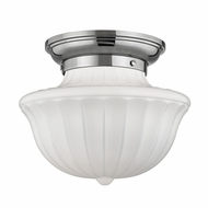 Hudson Valley 5012F-PN Dutchess Polished Nickel Ceiling Light Fixture