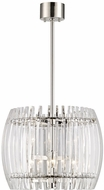 Hudson Valley 5018-PN Freeze Contemporary Polished Nickel 18  Pendant Hanging Light
