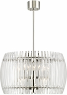 Hudson Valley 5024-PN Freeze Modern Polished Nickel 24  Hanging Light Fixture