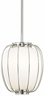 Hudson Valley 5110-PN Ephron Modern Polished Nickel Mini Drop Lighting Fixture