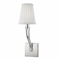 Hudson Valley 5121-PN Hildreth Polished Nickel Wall Sconce Lighting