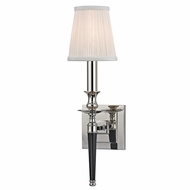 Hudson Valley 5221-PN Salina Polished Nickel Finish 4.5  Wide Wall Light Sconce