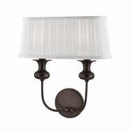 Hudson Valley 5402-OB Pembroke Old Bronze Wall Light Sconce