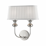 Hudson Valley 5402-PN Pembroke Polished Nickel Wall Sconce Light