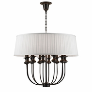 Hudson Valley 5412-OB Pembroke Old Bronze Hanging Lamp