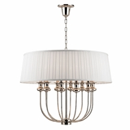 Hudson Valley 5412-PN Pembroke Polished Nickel Hanging Light