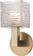 Hudson Valley 5441-AGB Sagamore Contemporary Aged Brass LED Wall Sconce