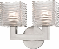 Hudson Valley 5442-SN Sagamore Modern Satin Nickel LED 2-Light Vanity Lighting