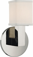 Hudson Valley 5451-PN Clarke Modern Polished Nickel LED Light Sconce