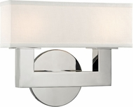 Hudson Valley 5452-PN Clarke Modern Polished Nickel LED 2-Light Bath Sconce