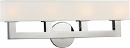 Hudson Valley 5454-PN Clarke Modern Polished Nickel LED 4-Light Bathroom Wall Sconce