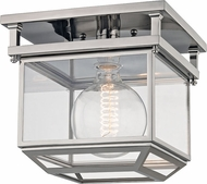 Hudson Valley 5611-PN Rutherford Polished Nickel 10.5  Flush Lighting