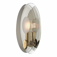 Hudson Valley 5711-AGB Galway Contemporary Aged Brass Finish 11  Tall Wall Lamp