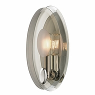 Hudson Valley 5711-PN Galway Modern Polished Nickel Finish 5  Wide Wall Lighting