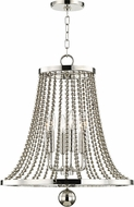 Hudson Valley 5720-PN Spool Contemporary Polished Nickel 20.5 Foyer Light Fixture