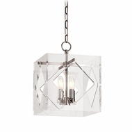 Hudson Valley 5912-PN Travis Modern Polished Nickel Finish 12  Wide Hanging Light