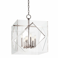 Hudson Valley 5920-PN Travis Modern Polished Nickel Finish 20  Wide Hanging Pendant Light