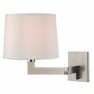 Hudson Valley 5941-PN Fairport Polished Nickel Finish 9  Wide Wall Light Fixture