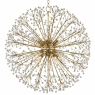 Hudson Valley 6030-AGB Dunkirk Aged Brass Chandelier Lighting