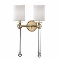 Hudson Valley 6032-AGB Gordon Aged Brass Wall Lamp