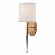Hudson Valley 6120-AGB Madison Aged Brass Finish 7.25  Wide Wall Mounted Lamp