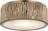 Hudson Valley 6209-AGB Crispin Aged Brass LED Ceiling Light Fixture
