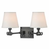 Hudson Valley 6232-OB Hillsdale Vintage Old Bronze Finish 18  Wide Wall Light Sconce